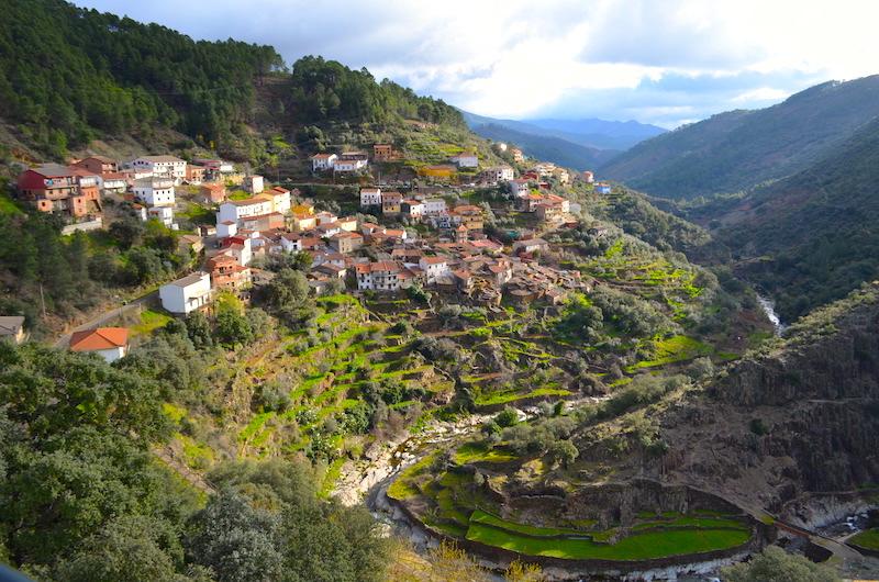 LAS HURDES en Extremadura
